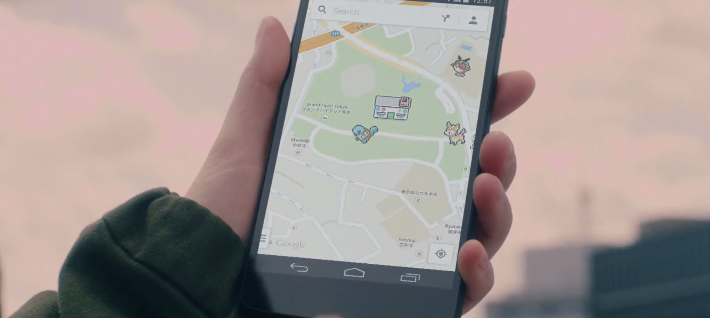 Google Maps Lets You Catch Pokemon on Your Smartphone