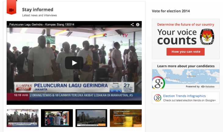 Screen shot 2014 03 26 at PM 04.17.56 730x435 Googles new online tools will keep voters in India and Indonesia informed ahead of upcoming polls
