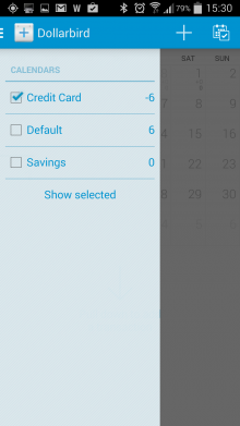 Screenshot 2014 03 17 15 30 42 220x391 Dollarbirds awesome personal finance tracker arrives for Android with Pro accounts in tow