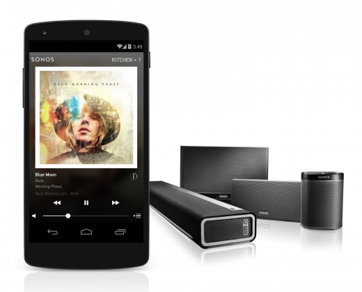 Sonos app family 520x420 Sonos announces a revamped app, with the Android public beta available now
