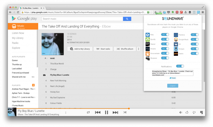 Soundwave 730x435 Soundwave comes to the desktop with a Chrome extension to let you share more of the music you love