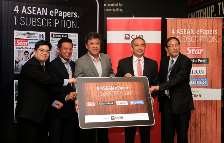Story picture 730x466 Four newspapers team up to launch Southeast Asias first combined digital subscription