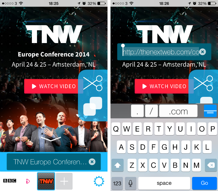Stream4 Stream Web for iOS is a social, gesture based app for browsing the Internet