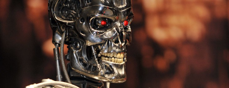 Terminator 730x280 Artificial Intelligence could kill us all. Meet the man who takes that risk seriously