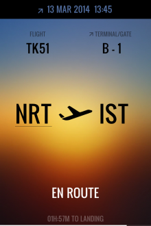 a6 220x330 This gorgeous iPhone app displays real time flight status and corresponding weather conditions