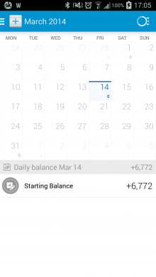 a9 220x391 Dollarbirds awesome personal finance tracker arrives for Android with Pro accounts in tow