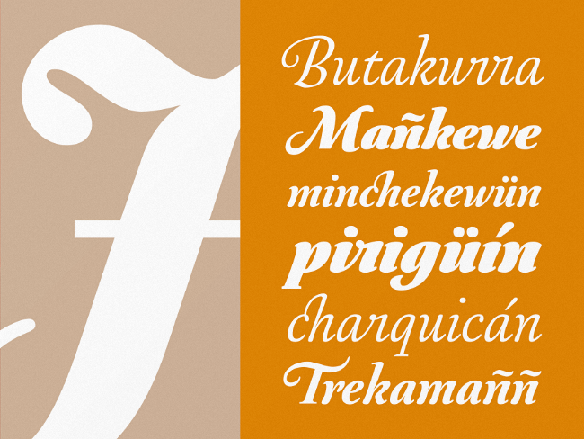 australis pro swash Our favorite typefaces from February 2014