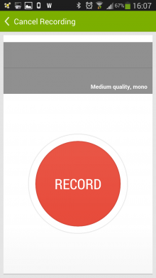 b4 220x391 Recordense for Android is a stylish recorder for annotating audio with notes