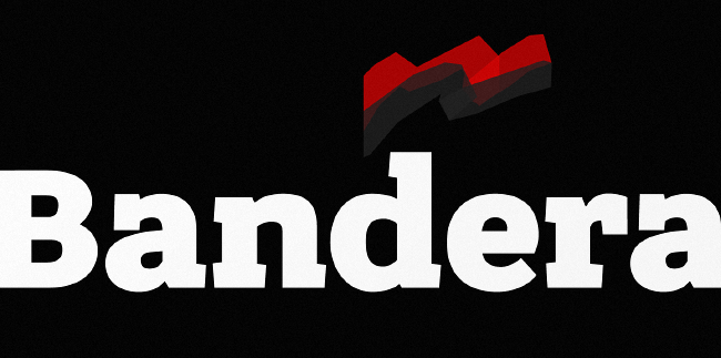 bandera Our favorite typefaces from February 2014
