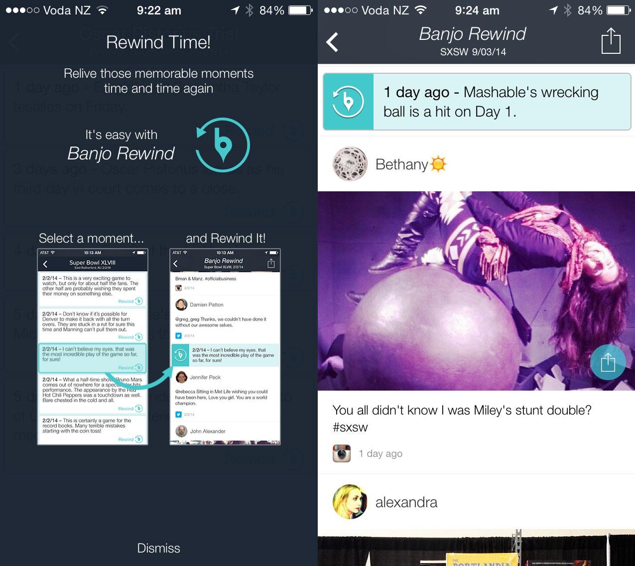 banjo Banjo updates mobile apps to create TiVO for social media