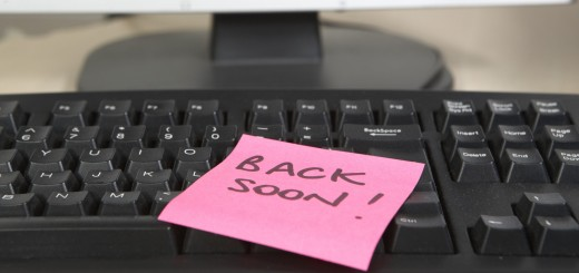 be back soon post it