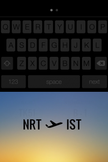 c8 220x330 This gorgeous iPhone app displays real time flight status and corresponding weather conditions