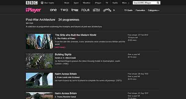 collectinos The BBC launches an all new redesigned responsive iPlayer, now features Collections of programmes