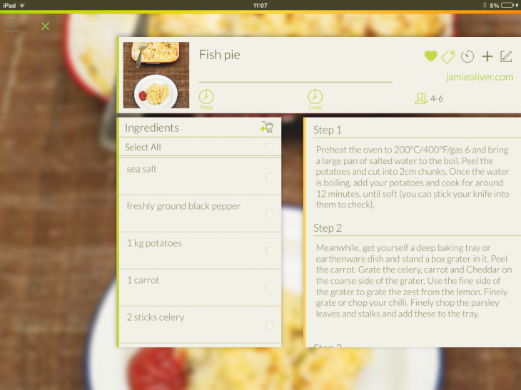 d12 730x547 Open Sesame: Sync, save and search for all your favorite recipes with this iOS app