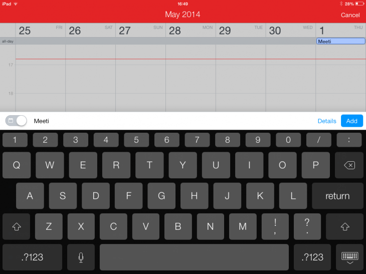 d14 730x547 Flexibits Fantastical calendar app is now available on iPad