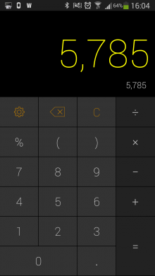 d2 220x391 CALCU is a sweet, gesture based calculator for Android