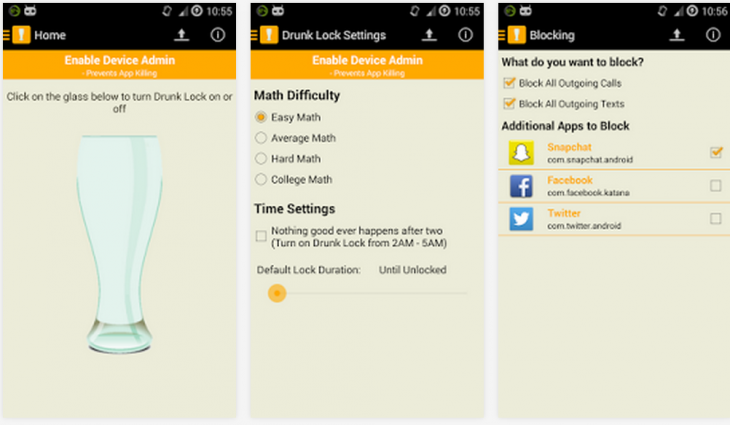 drunklock 730x425 St. Patricks Day 2014 app toolkit: A drinkers guide to getting your green on
