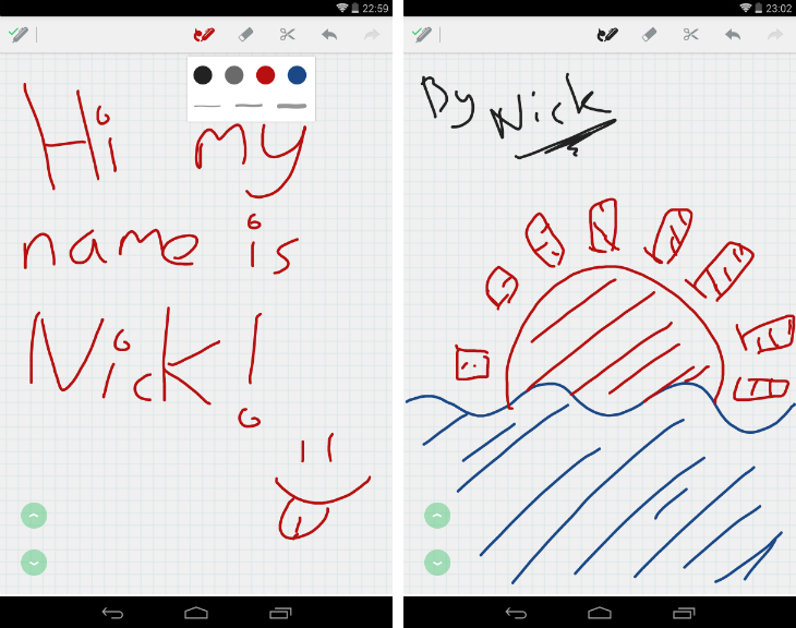 evernote2 Evernote for Android now supports handwritten notes
