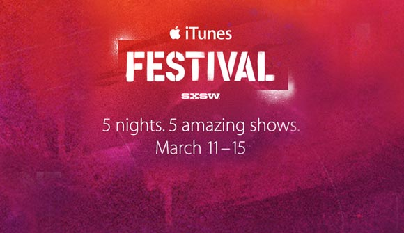 itunes sxsw Vevo strikes deal to stream Apples iTunes Festival at SXSW, but only on iOS, Mac and Apple TV