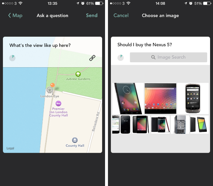 jelly2 Jelly for iOS now lets you ask and answer questions with a location