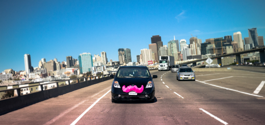 lyft_car_on_road