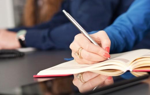 meeting taking notes