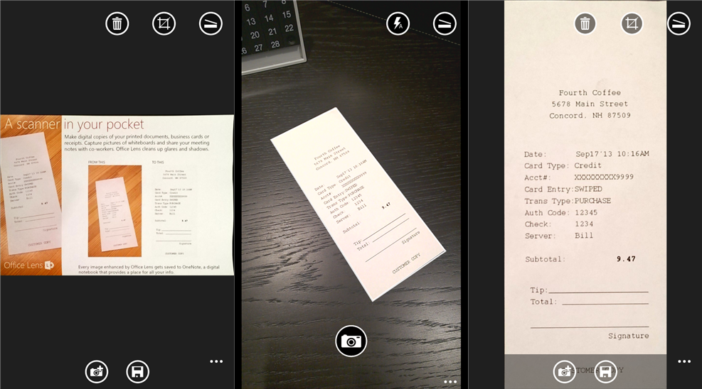 office lens windows phone Office Lens lets you scan documents and whiteboards with your Windows Phone directly into OneNote