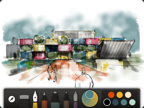 Paper by FiftyThree gets a redesign with new controls and drawing features