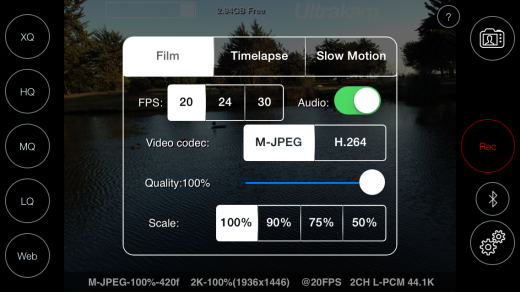 photo22 e1396243685803 520x292 Ultrakam lets iOS cinematographers shoot at film quality resolution