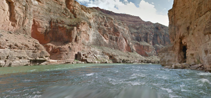r 730x342 Google now lets you ride the Colorado Rivers whitewater rapids on Street View