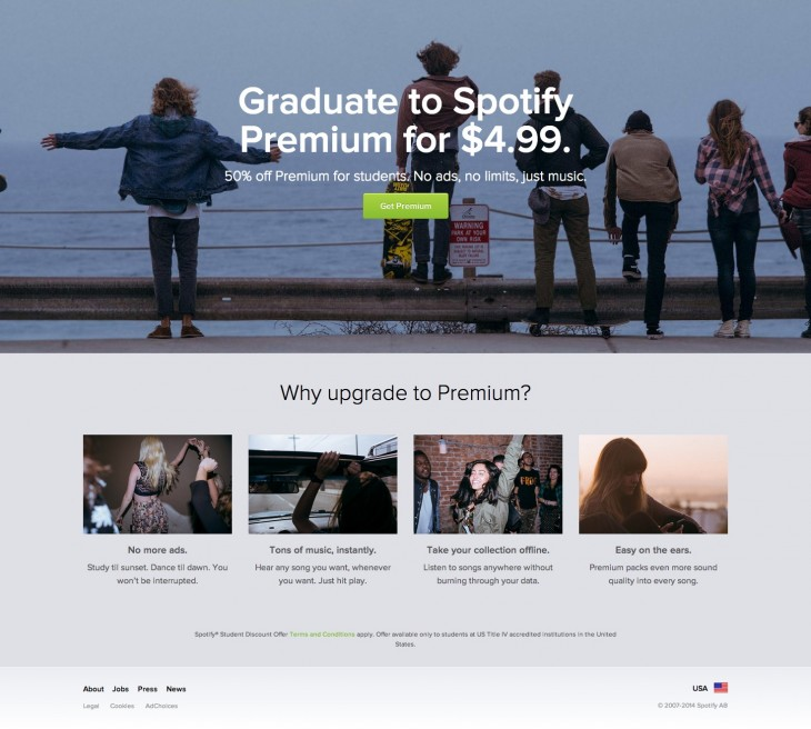 resource4 730x656 Spotify Premium is now 50% off for college students in the US