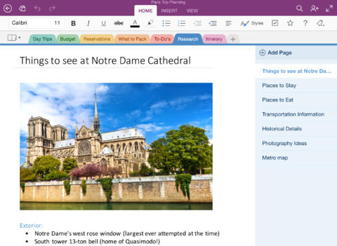 Microsoft OneNote for iPad redesigned for iOS 7 to match new Office mobile apps
