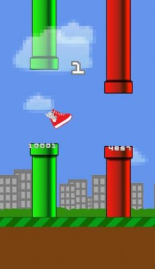 This Flappy Bird esqe game for iPhone connects with Fitbit to get easier the more steps you take