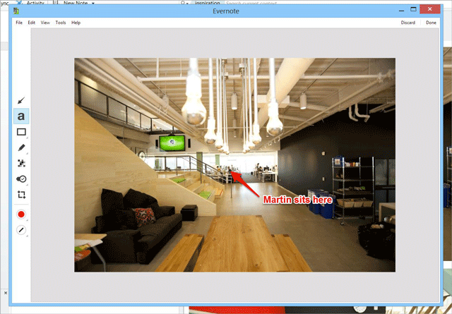 windows annotate Evernote for Windows now lets you markup and annotate images in your notes