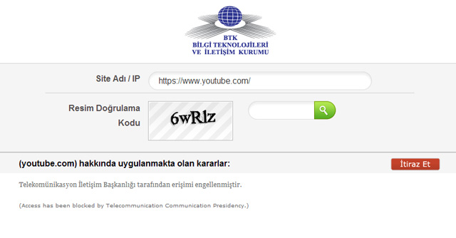 youtubeengel ekrangoruntusu YouTube is now blocked in Turkey
