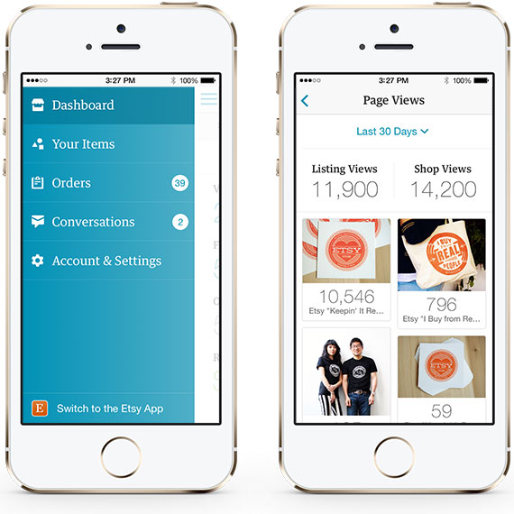 0424 etsy Etsy launches a new iPhone app to help sellers do more on the go