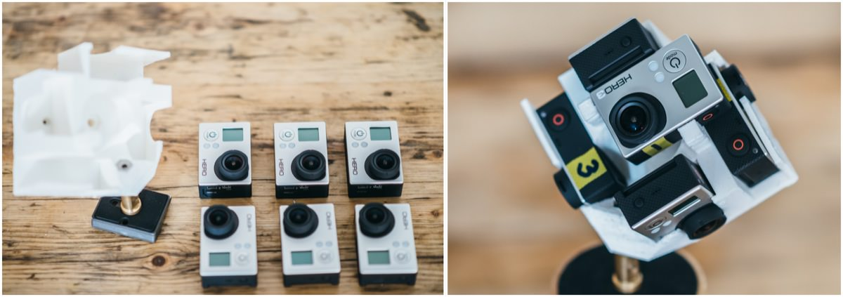 1200px 360 degree gopro mount 3d print jonas ginter This 360° video shot with 6 GoPro cameras will blow your mind