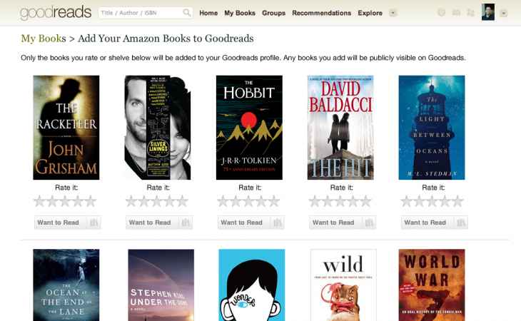 1397605597 1397605597 goodreads misc 730x450 Goodreads makes it easier to add your Amazon book buys to your virtual shelves