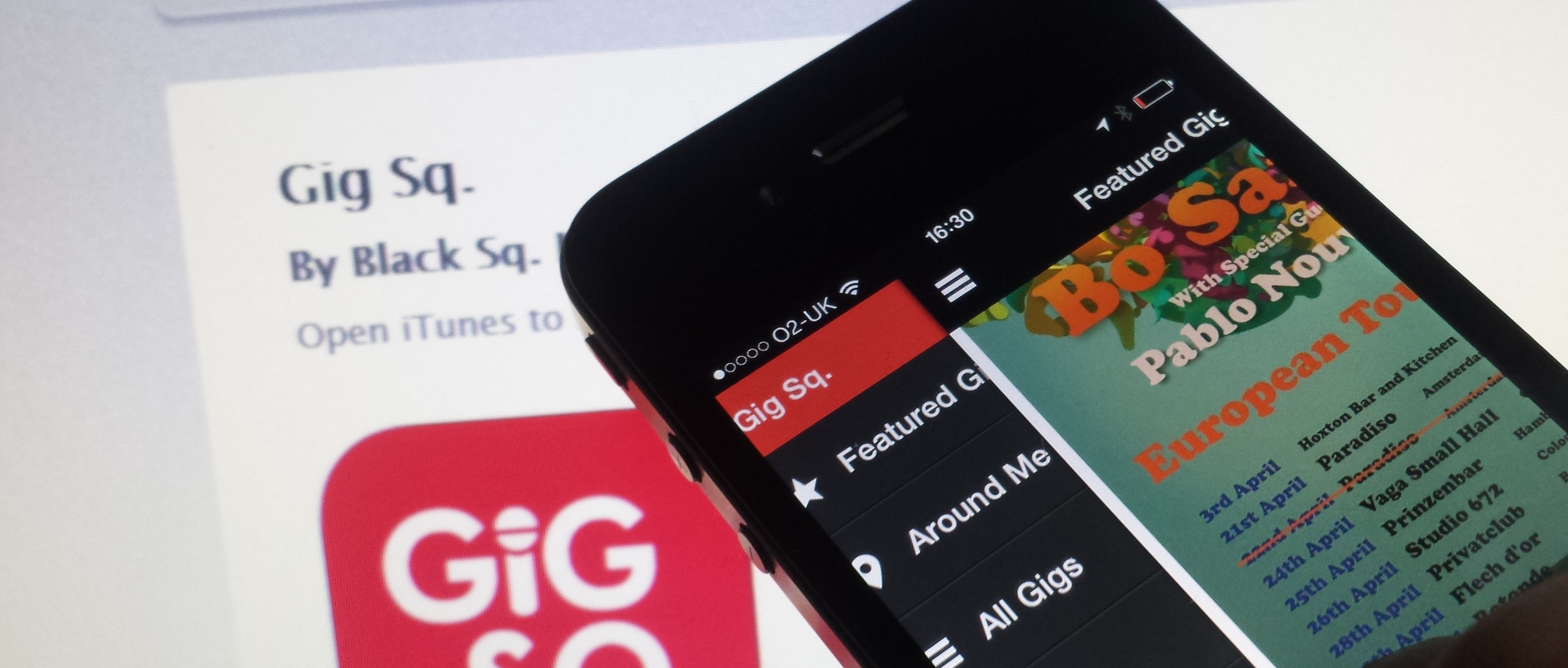 Gig Sq. Adds Mobile Ticketing to Live London Music App