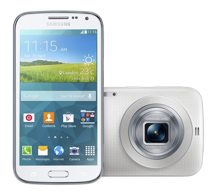 3. Galaxy K zoom_Shimmery White