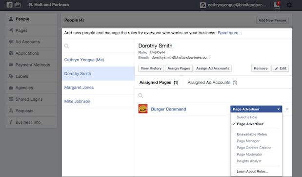 851587 1484981391720401 1976706382 n Facebook launches Business Manager, a tool for advertisers to manage ad accounts, Pages, apps, and permissions