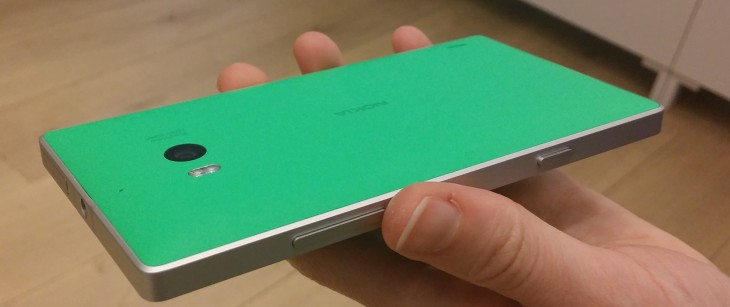 930green 730x307 Hands on with Nokias new 20 megapixel Lumia 930