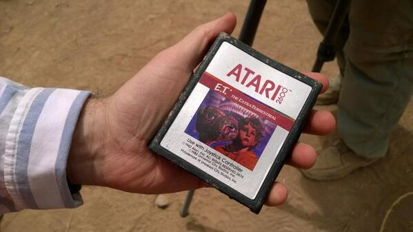 BmK77NNIcAAQ33b Microsoft finds buried Atari games in landfill