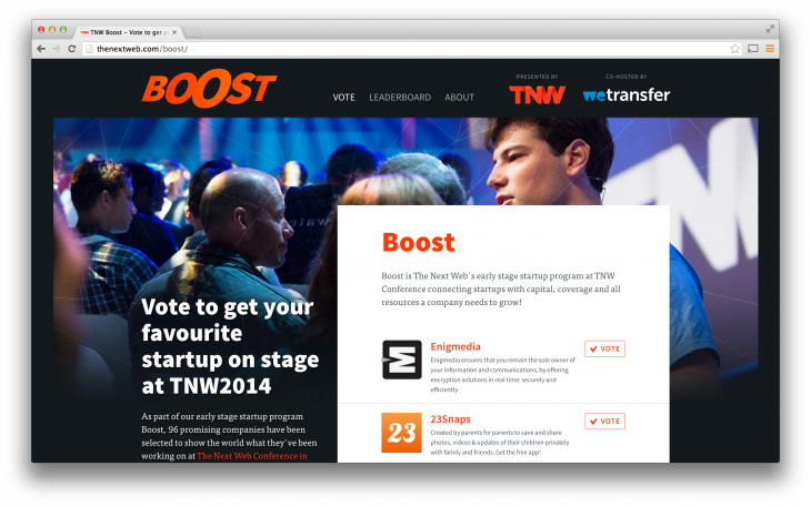 Boost 730x456 Meet 100 startups in Europe waiting to get funded