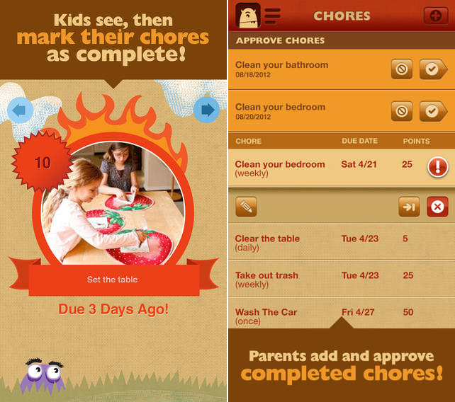 ChoreMonster ChoreMonster 2.0 lands for Web and iOS, bringing Amazon integration and new interactive monsters