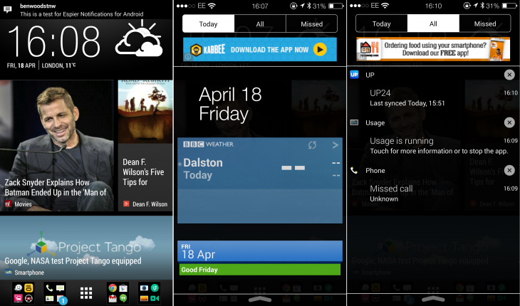 Espier 730x430 11 Android apps to make notifications more interesting