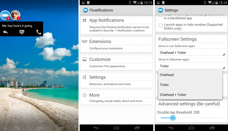 Floatifications 730x419 11 Android apps to make notifications more interesting