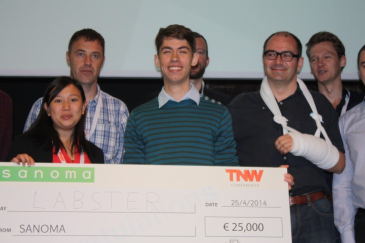 IMG 7770 730x486 Labster wins Sanomas Startup Challenge 2014 at TNW Europe
