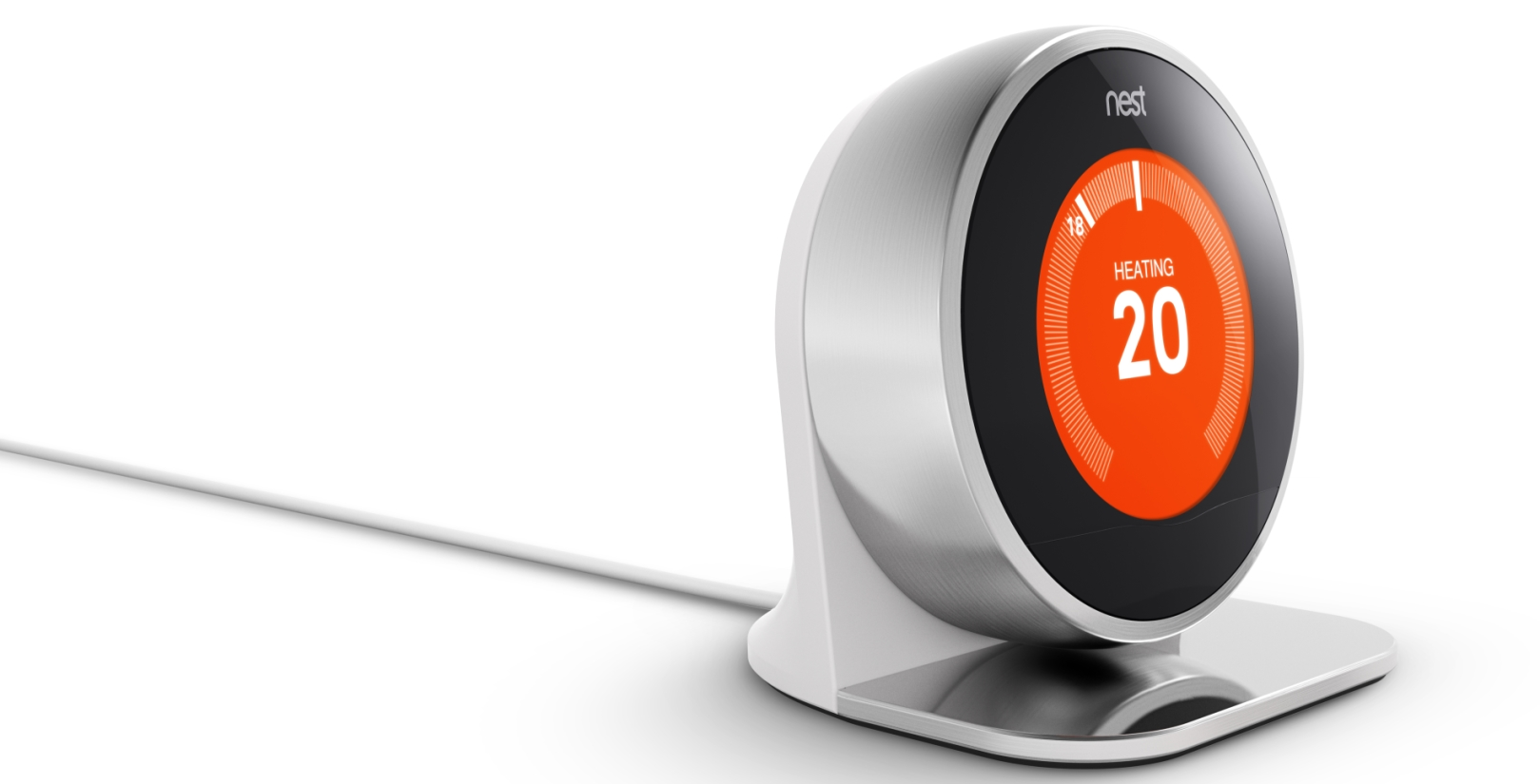 nest 39 s smart thermostat is now available to buy in the uk. Black Bedroom Furniture Sets. Home Design Ideas