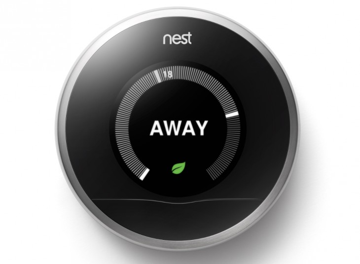 Nest Thermostat Away 730x536 Nests smart Thermostat is now available to buy in the UK, priced from £179